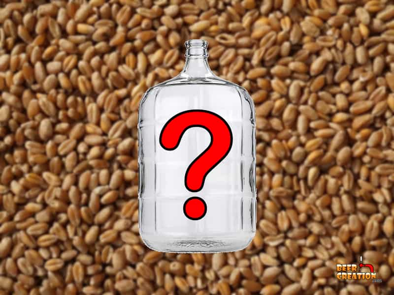 What size carboy do you actually need for a 5-gallon batch?